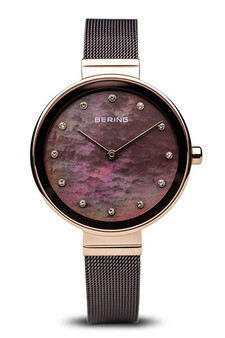 Bering Classic Rose Gold Mother of Pearl Watch 12034-265