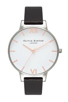 Olivia Burton White Dial Silver Watch OB16BDW08