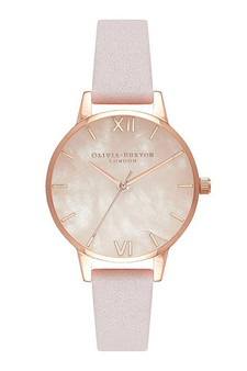 Olivia Burton Semi Precious Rose Gold Watch OB16SP02
