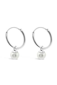 Ichu Tiny Pearl Sleeper Earrings JP7707