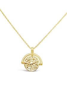 Ichu Vintage Armour Necklace Gold JP10004G