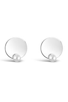 Ichu Disk N' Pearl Earrings JP8507