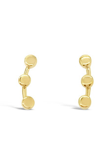 Ichu Tiny Triple Circle Ear Cuff JP2507G