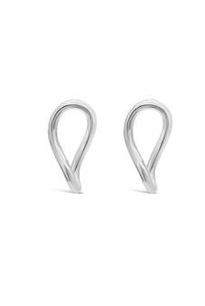 Ichu Abstract Oval Earrings ME10007