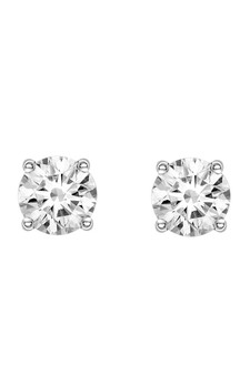 Ichu Large Cubic Zirconia Earrings JP3607