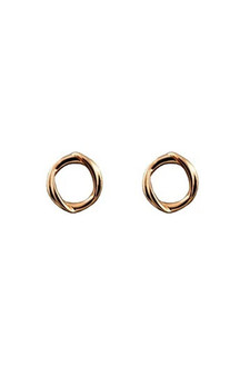 Ichu Circle Twist Studs JP1807RG