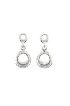 Ichu Tiny Circle Drop Earrings JP0707