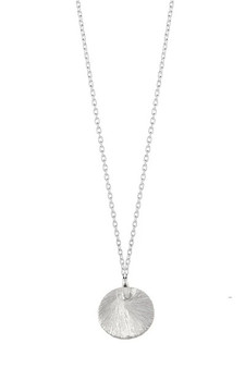 Ichu Tiny Satin Circle Necklace N16804