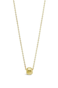 Ichu Tiny Ball Gold Necklace N3504G