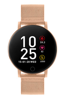 Reflex Active Series 5 Rose Gold Mesh Smart Watch RA05-4016
