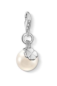 Thomas Sabo Charm Pendant Pearl With Cloverleaf CC1461