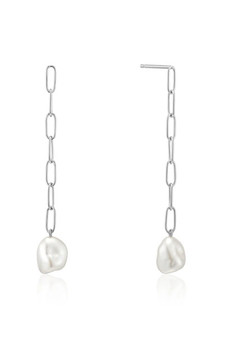 Ania Haie Pearl Chuncky Drop Earrings E019-05H