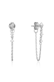 Ania Haie Spike Chain Stud Earrings E025-02H