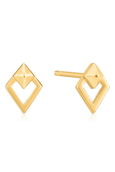 Ania Haie Spike Diamond Stud Earrings E025-08G