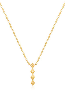 Ania Haie Spike Drop Necklace N025-01G