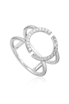 Ania Haie Spike Double Ring R025-01H
