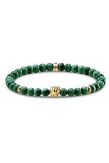 Thomas Sabo Bracelet Green Stones TA1980-15 15cm