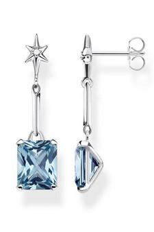Thomas Sabo Earrings Blue Stone TH2115AQ