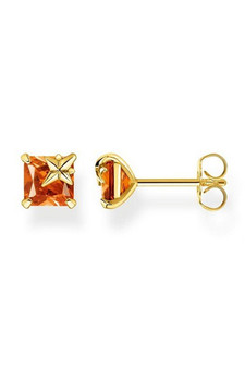 Thomas Sabo Ear Studs Orange Stone TH2116CHY