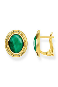 Thomas Sabo Ear Studs Green Stone TH2122Y