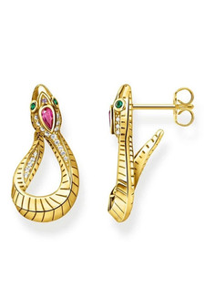 Thomas Sabo Earrings Snake TH2123Y