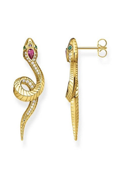 Thomas Sabo Earrings Snake TH2124Y