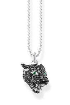 Thomas Sabo Necklace Black Cat TKE1973