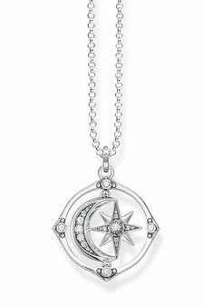 Thomas Sabo Necklace Star & Moon TKE1983