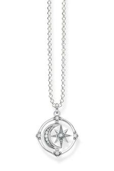 Thomas Sabo Necklace Star & Moon TKE1985
