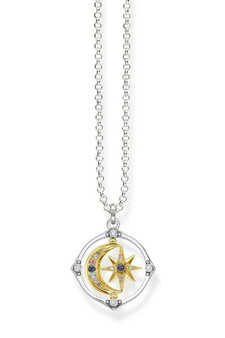 Thomas Sabo Necklace Star & Moon TKE1985Y
