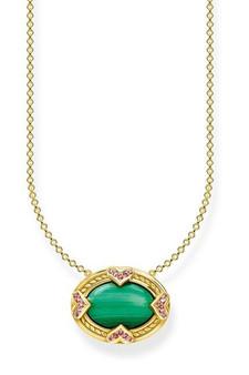 Thomas Sabo Necklace Green Stone TKE1989Y