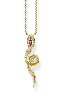 Thomas Sabo Necklace Snake TKE1992Y
