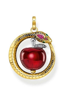 Thomas Sabo Pendant Apple With Snake TPE894Y