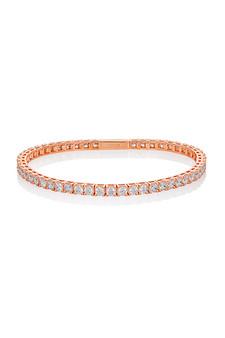 Georgini Selena 3Mm Tennis Bracelet Rose Gold IB201RG