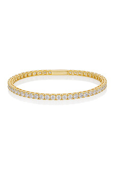 Georgini Selena 3Mm Tennis Bracelet Gold IB201G