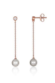 Georgini Heirloom Treasured Earrings Rose Gold IE956RG