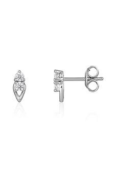 Georgini Heirloom Keepsake Earrings Silver IE960W