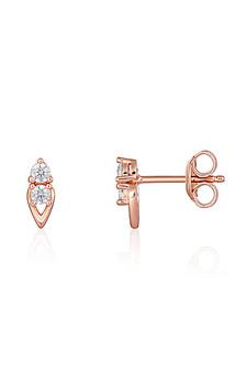 Georgini Heirloom Keepsake Earrings Rose Gold IE960RG