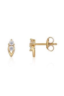 Georgini Heirloom Keepsake Earrings Gold IE960G
