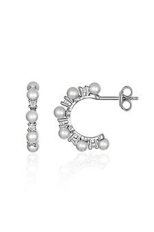 Georgini Heirloom Darling Earrings Silver IE966W
