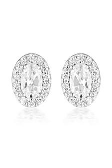 Georgini Aurora Glow Earrings Silver IE973W