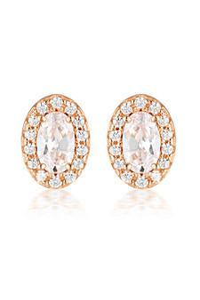 Georgini Aurora Glow Earrings Rose Gold IE973RG