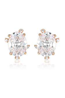 Georgini Aurora Southern Lights Earrings Rose Gold IE975RG