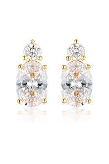 Georgini Aurora Australis Earrings Gold IE978G