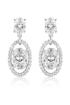 Georgini Aurora Heaven Earrings Silver IE979W