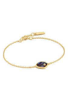 Ania Haie Gold Tidal Abalone Bracelet B027-01G