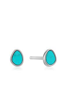 Ania Haie Silver Tidal Turquoise Stud Earrings E027-04H