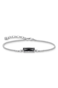 Thomas Sabo Bracelet Black Stone Silver TA2019BL