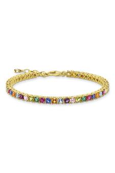 Thomas Sabo Bracelet Colourful Stones Gold TA2020MCY