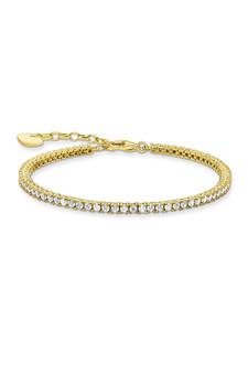 Thomas Sabo Tennis Bracelet Gold TA2021Y